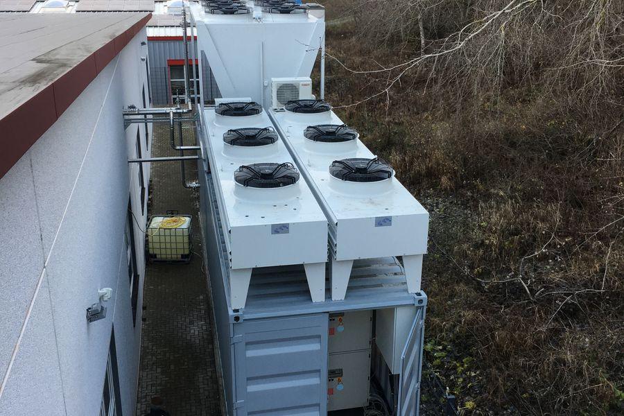 Zentrale Kaltwasserversorgung